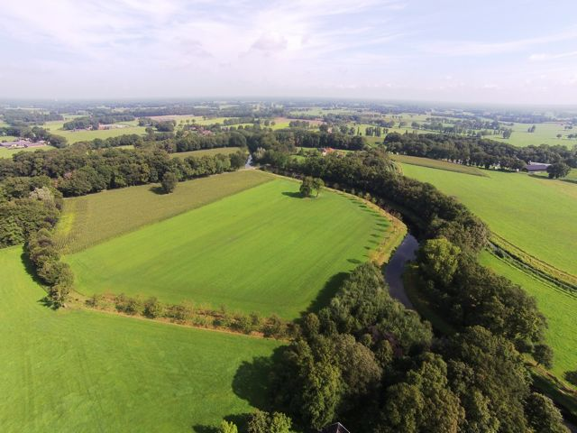 landgoed weleveld van boven gezien