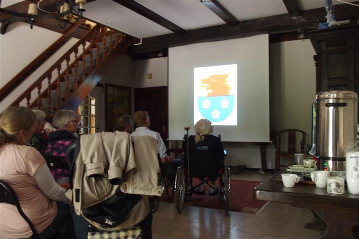 Weleveld presentatie tijdens Kloosterpad mei 2015